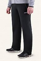 Мужские брюки больших размеров черный-серый (54-58)