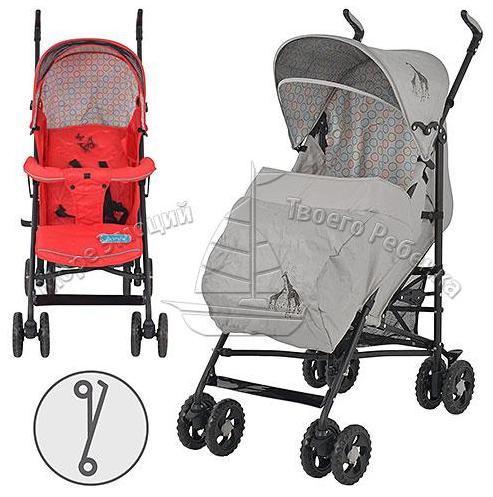 Детская прогулочная коляска трость 1109-3-11***