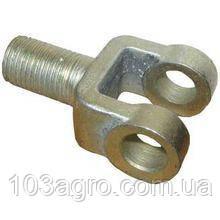 Вилка вижимного ричага МТЗ-100 з гайкою, фото 2