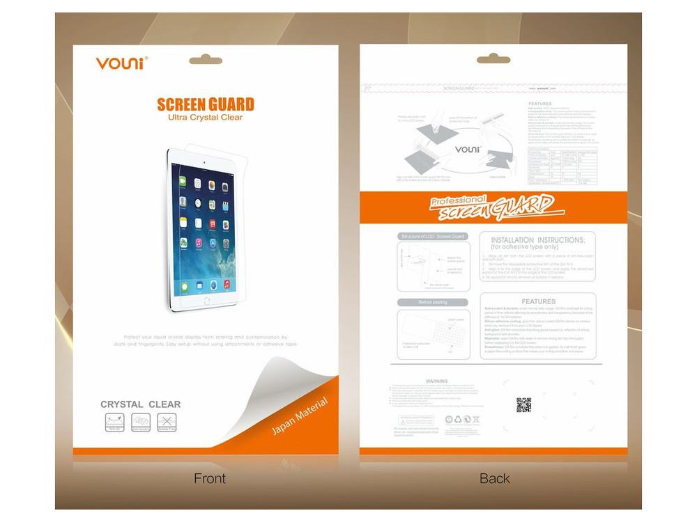 Защитная пленка Vouni для Apple iPad Air, iPad Air 2 - глянцевая