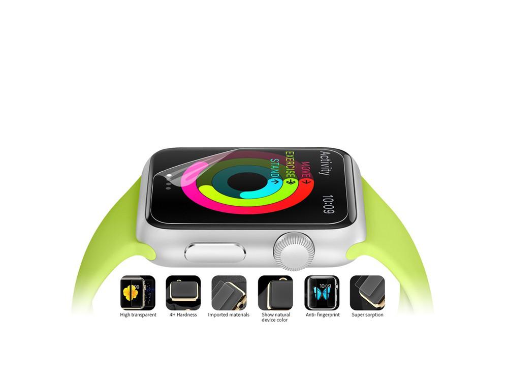 Защитная пленка Devia для Apple Watch 38mm - глянцевая