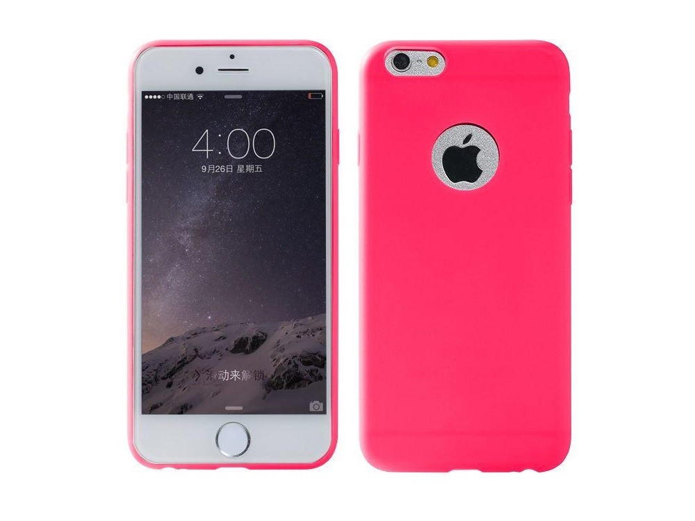 Чехол Remax для iPhone 6/6S Jelly Upgrade Rose