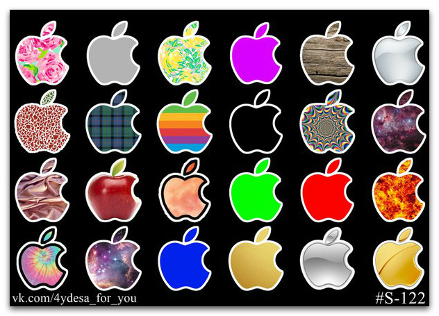 Stickers Pack Apple #122