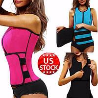 Топ-корсет для похудения с эффектом сауны Hot Sweat Body Vest
