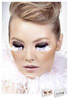 Реснички White-Gray Feather Eyelashes