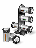 Набор контейнеров для специй Gravity Magnetic Spice Rack Zevgo 12 шт
