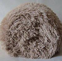 Капучино ворсистый мягкий плед-покрывало с длинным ворсом, фото 1