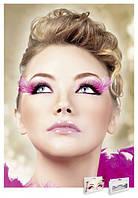 Реснички Black-Purple Feather Eyelashes