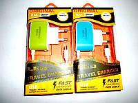 Зарядное устройство 5V 3А 3 USB micro 8600 V8(Китай)