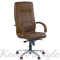 Star steel chrome (Стар) офисное кресло для директора