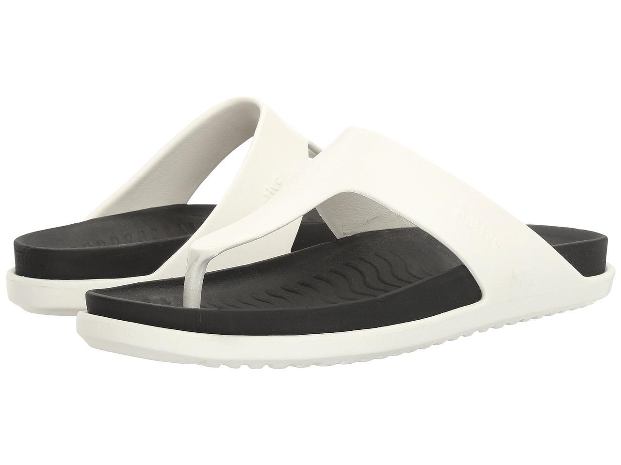 Сандали/Вьетнамки (Оригинал) Native Shoes Turner LX Shell White/Jiffy Black