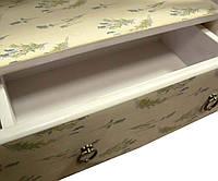 """Этажерка """"Лаванда"""" фиолетовый,4 полки 2 ящика, закрытая задняя стенка, массив дерева (54 х 29 х 160)"""
