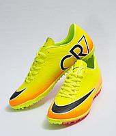 Сороконожки футбольные Nike CR7 (p.40-45) Punch/Black/Pink