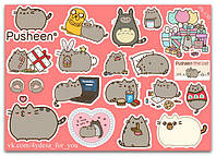 Stickers Pack Pusheen, Пушин #130