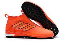 Футбольные сороконожки adidas ACE Tango 17+ Purecontrol TF Solar Red/Solar Orange/Core Black, фото 1