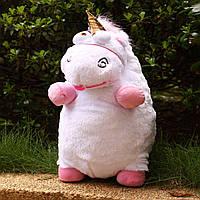 Большая Плюшевая мягкая игрушка единорог Флаффи из мультфильма Гадкий Я 55см, большие игрушки мягкие единороги