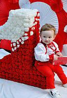Костюм тройка праздничный на мальчика , фото 1
