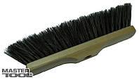 Щетка для пола 320х70х100 мм конский волос деревянная без ручки