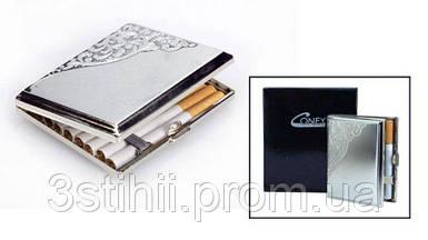 Портсигар VH 04727 для 18 KS сигарет Венецианский дизайн