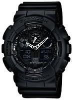 Часы CASIO G-Shock GA 100 AAA качество черные