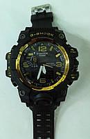 Часы мужские CASIO G-Shock MUDMASTER черно-золотые