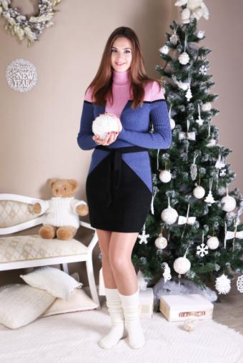 Длинные теплые платья - Корсет