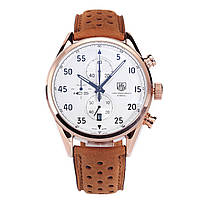 Наручные мужские кварцевые часы TAG Heuer Spacex White