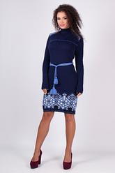 Женское платье машинная вязка - Иванка