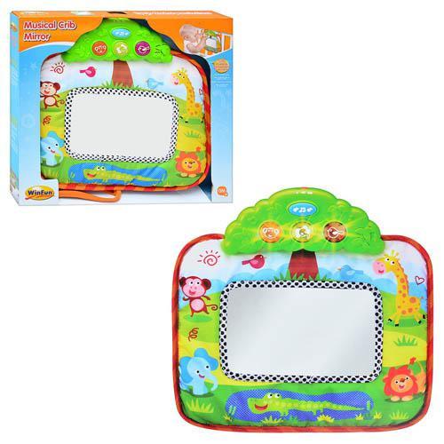 Развивающая игрушка на кроватку музыкальное Зеркальце 0216 NL