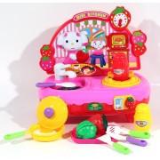 Детская кухня ZYC 0214 с посудкой и продуктами