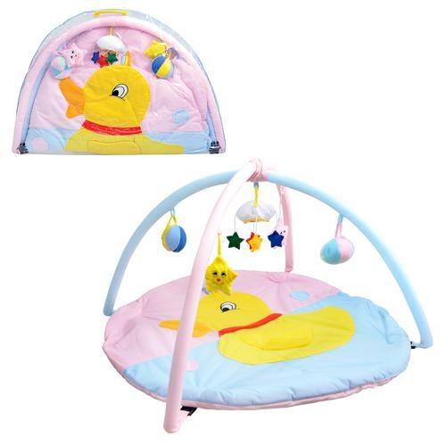 Детский развивающий коврик W 8313 с игрушками на подвеске