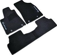 Коврики в салон Lexus GX460 (2010-) 5 мест /Чёрные