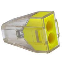 """Экспресс-клемма для распределительных коробок """"WAGO 773-324"""" на 2 проводника, 220В, 25А, 1-2,5 мм. кв."""