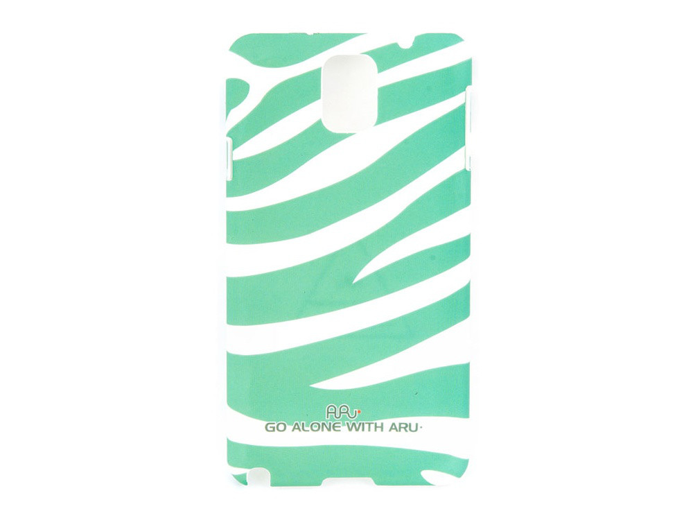 Чехол ARU для Samsung Galaxy Note 3 Zebra Stripe Green