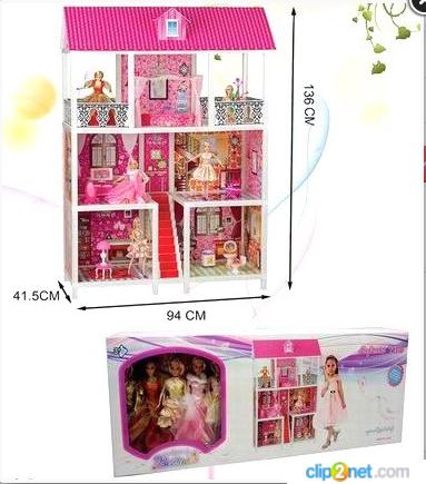 Детский кукольный домик для Барби 66885