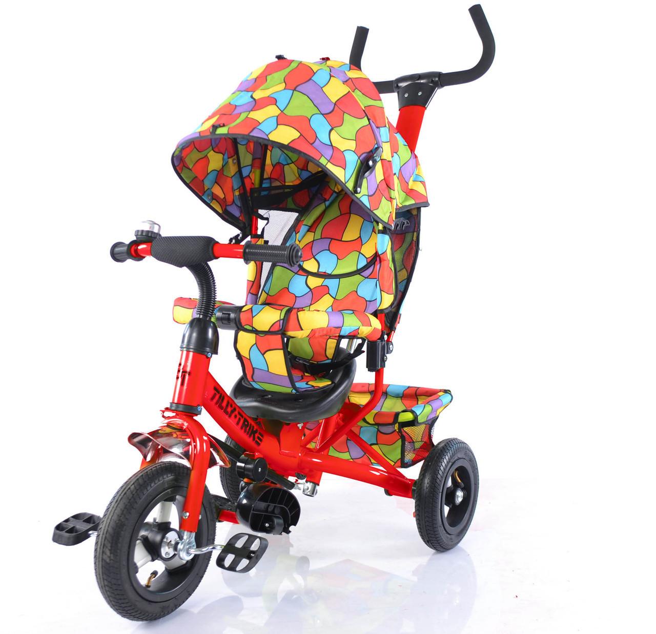 Велосипед трехколесный TILLY Trike T-351-1 КРАСНЫЙ ***