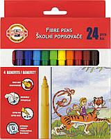 ФломастерыKOH-I-NOOR 24 шт 7710СВ/24