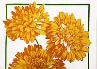 Ткань вафельная, Цветы 3878_ 01,Состав ткани:100% хлопок. Плотность:204 г/м2 .Ширина:150 см.