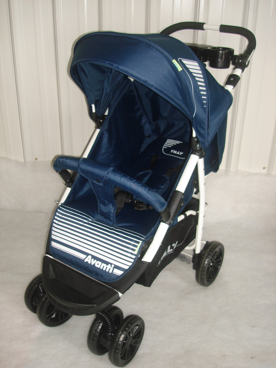 Прогулочная коляска TILLY Avanti T-1406 синяя, новинка 2017года***
