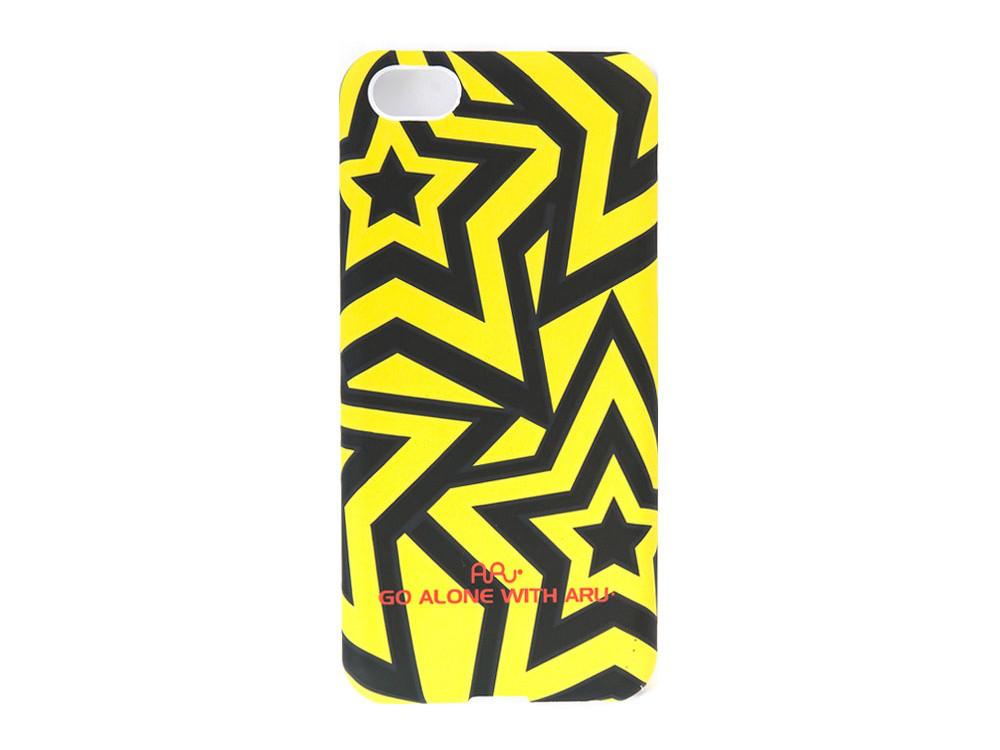 Чехол ARU для iPhone 5C Stars Yellow