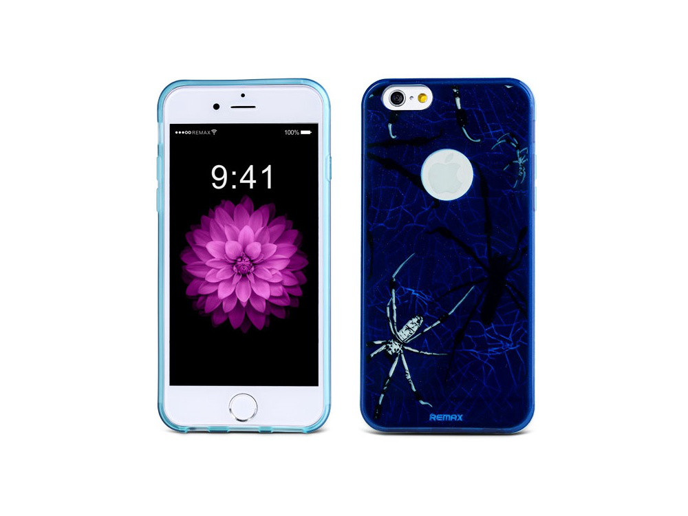 Чехол Remax для iPhone 6/6S Engarved McQueen blue