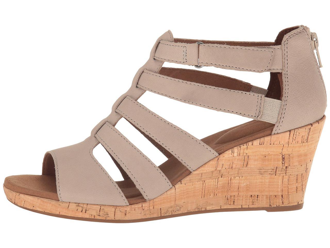 e70ee6da8d88 ... Туфли на каблуке (Оригинал) Rockport Briah Gladiator New Taupe Nubuck