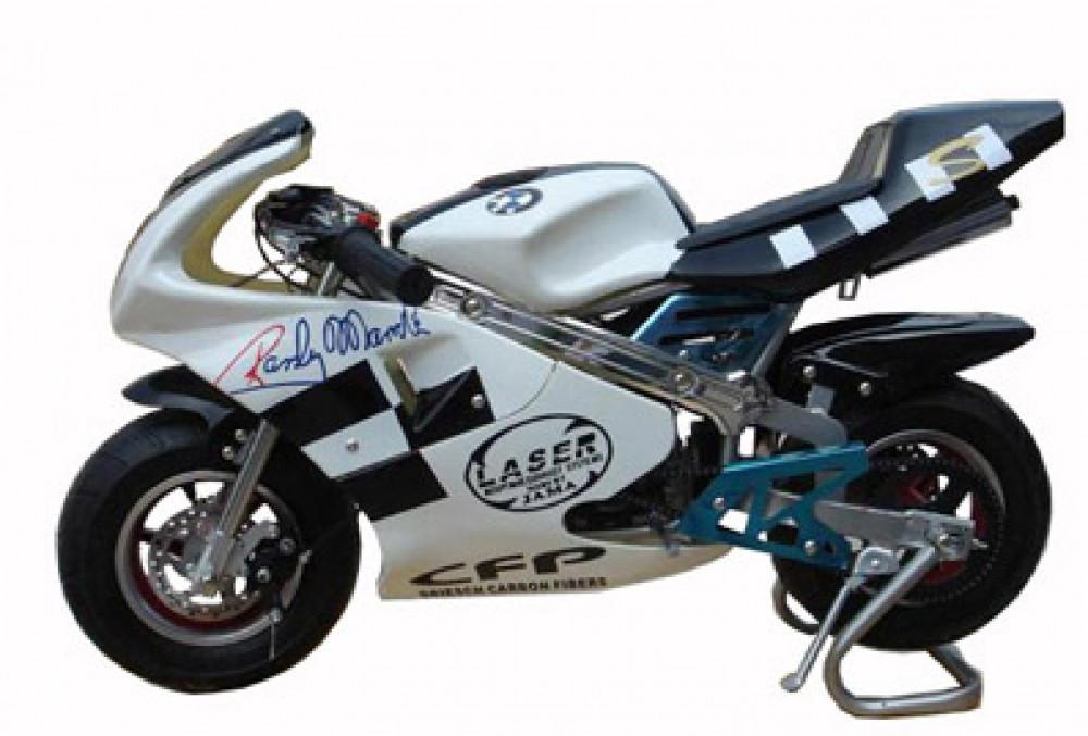 Детский спортивный мотоцикл на  резиновых колесах HL-E 29: 24V, 35 км/