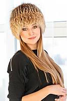 Купить вязаную шапку из лисы Barbara