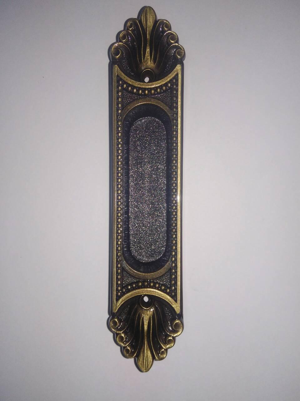 Ручка Enrico Cassina C50100 ант бронза для раздв дверей