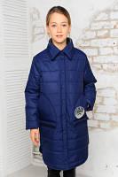 Весенняя удлиненная куртка для девочек, фото 1