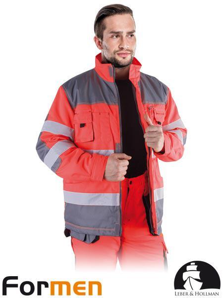 Куртка робоча зимова сигнальна LH-FMNWX-J CSB
