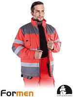 Куртка рабочая зимняя сигнальная LH-FMNWX-J CSB