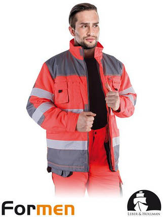 Куртка робоча зимова сигнальна LH-FMNWX-J CSB, фото 2