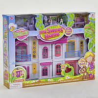 Кукольный Домик 16660 складной,мебель, звук, свет